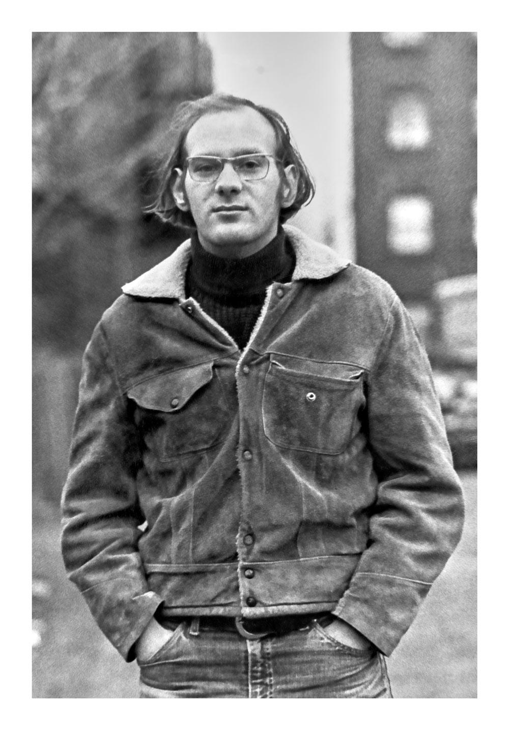 David Kaufman in 1968